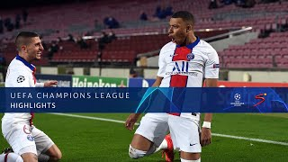 UEFA Champions League | Round of 16 | FC Barcelona v Paris Saint-Germain | Highlights