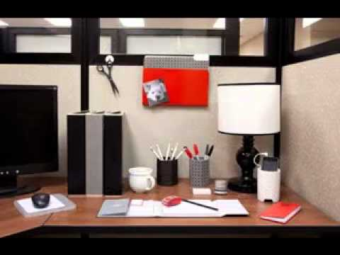 Office Cubicle Decorating Ideas - Youtube