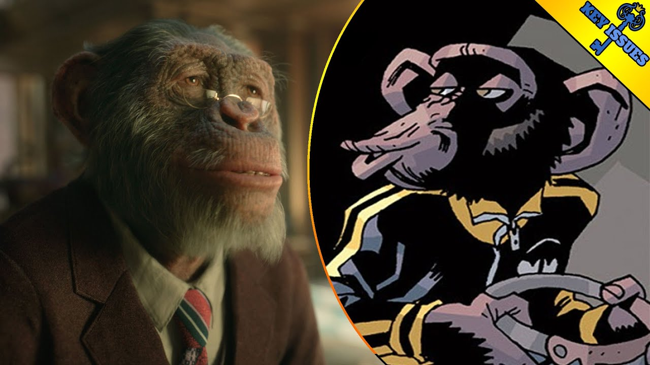 Umbrella Academy: Pogo Comic Book Origins Explained