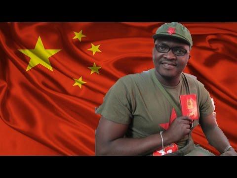 AFRICAN MAN SINGS RED SONGS!!! @ParkerLee