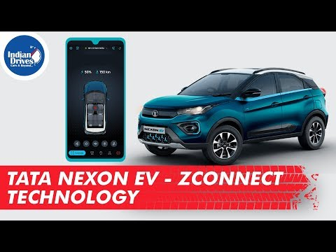 Know All About Tata Nexon EV - ZConnect Technology - 35 Mobile App Based Features