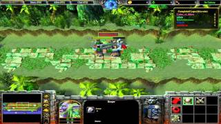 Warcraft III: TFT - (CUSTOM) 98 - Uther Party 2 0 4d