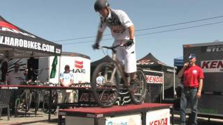 Mike Steidley Bike Stunt Show at Sea Otter Classic 2010 by Tunebug