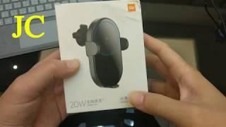 JC 小米無線車充開箱 改造 20W