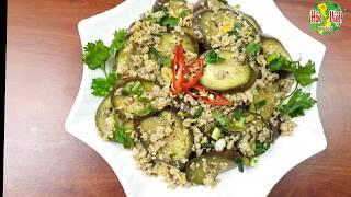 Cà Tím Xào Trứng Thịt Băm Ăn Rất Tốt Cho Sức Khỏe   Hồn Việt Food