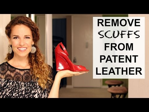 How To Remove SCUFF MARKS From Your Patent Leather Shoes! *Affordably Fabulous*