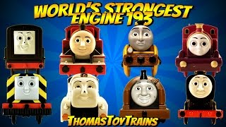 Thomas and Friends 193 World's Strongest Engine Trackmaster Tomy Plarail Toy Trains ThomasToyTrains