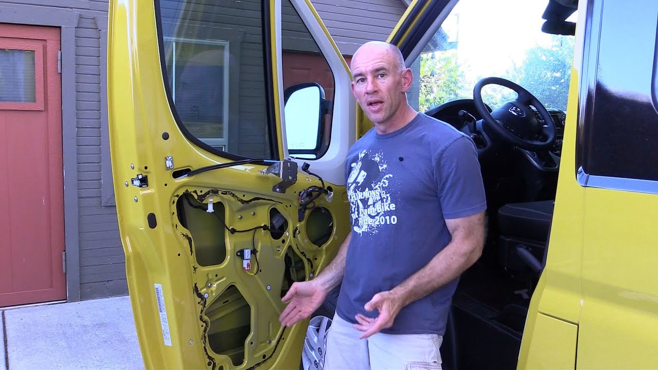 How To Remove Door Trim Panels From Ram Promaster Youtube