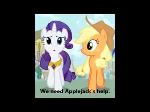 MLP FIM - A True, True Friend Karaoke/Instrumental With Lyrics