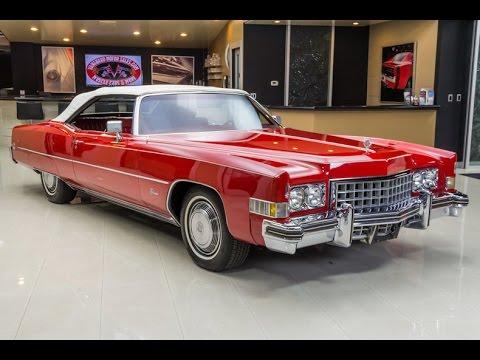 1973 Cadillac Eldorado Convertible For Sale - YouTube