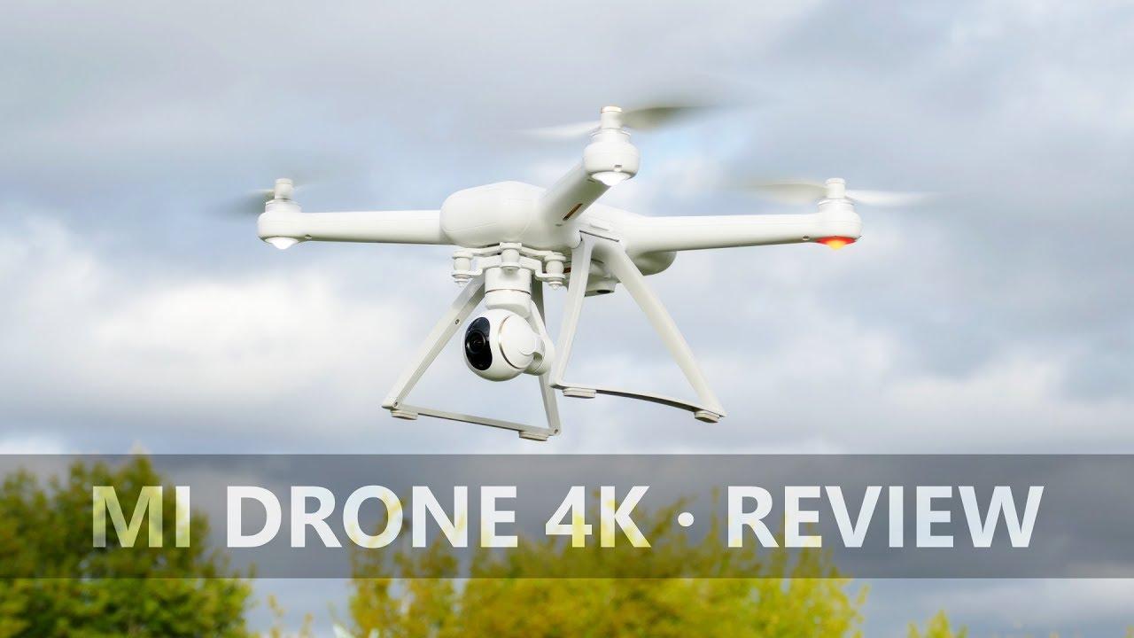 xiaomi mi drone 4k test