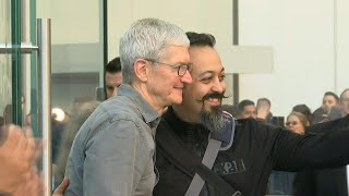 Tim Cook attends launch of Apple's iPhone 11 in New York | AFP