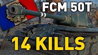 World of Tanks || FCM 50 t - 14 KILLS