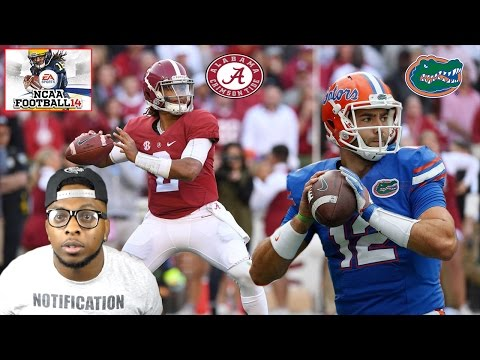 SEC CHAMPIONSHIP!!! ALABAMA VS FLORIDA!!! CRAZY ENDING!!! NCAA Football 14 Gameplay 2016 ROSTERS