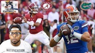 SEC CHAMPIONSHIP!!! ALABAMA VS FLORIDA!!! CRAZY ENDING!!! NCAA Football 14 Gameplay 2016 ROSTERS