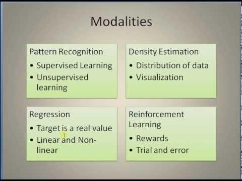 (00) Machine Learning: Basics