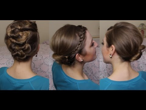 Quick Cute Hairstyles 3 Minute Emergency Hairstyles For