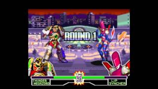 Mighty Morphin Power Rangers Fighting Edition Intro Snes Introduction