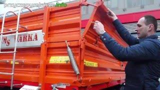Przyczepa MCMS Warka tandem 10 ton