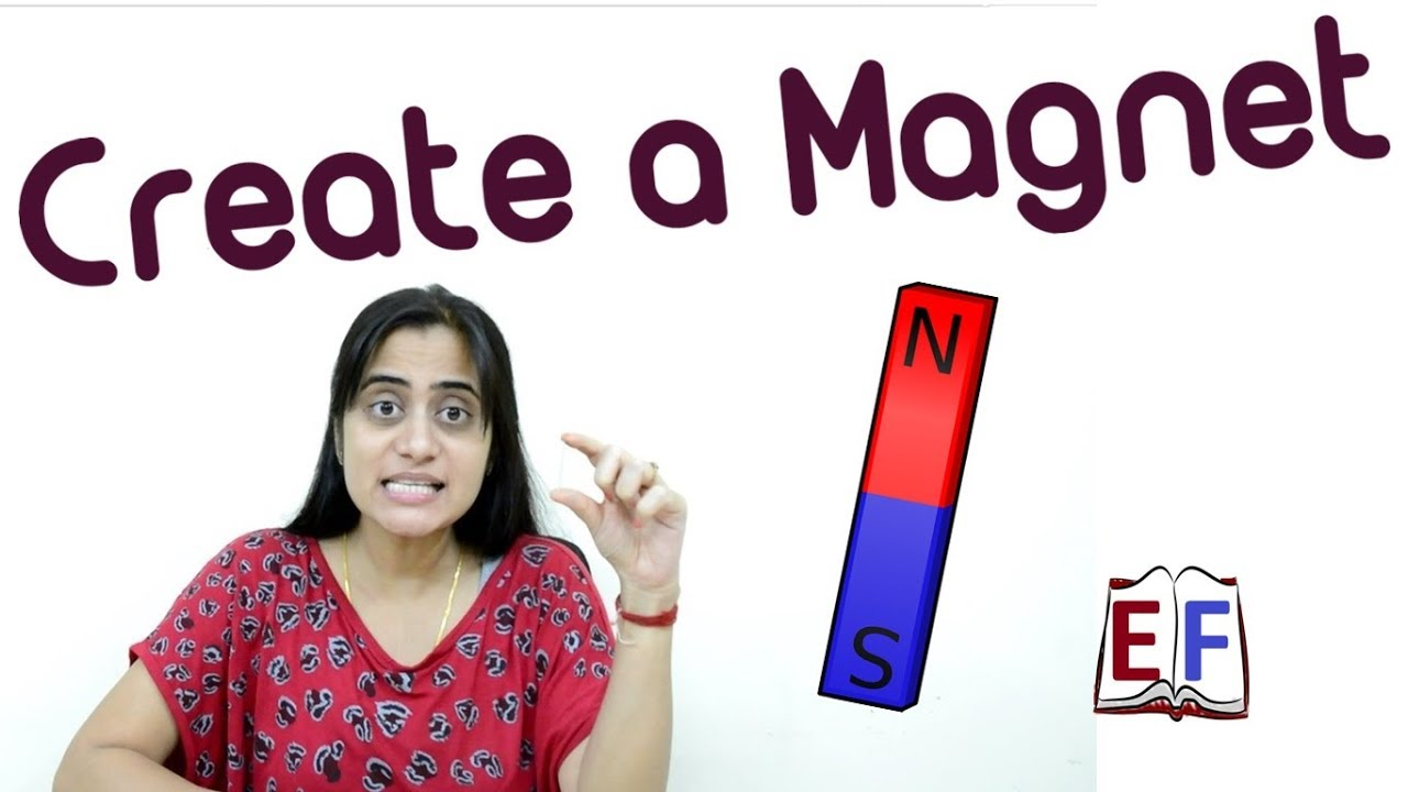 create your own magnet school science project youtube