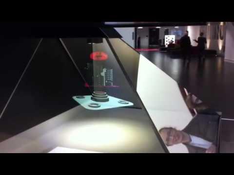 Holographic animation, Media City UK