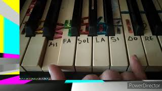 🎹🎼⭐НА БЕЗЫМЯННОЙ ВЫСОТЕ⭐ Как играть на ПИАНИНО  сразу 2мя руками по БЕЛЕНЬКИМ  клавишам 🎼🎵🎶ЛЯ МИНОР😼 видео