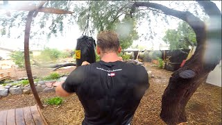How I Practice Kung Fu & Tai Chi IN THE RAIN!