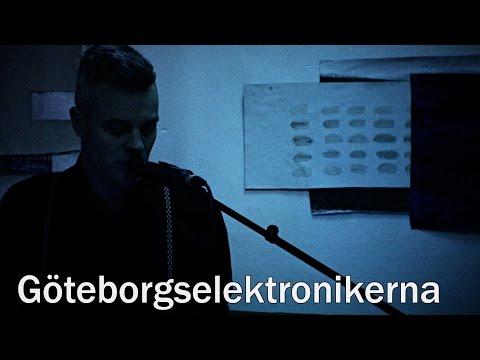 Göteborgselektronikerna Skyltfönsterspelning Kulturnatta 2016