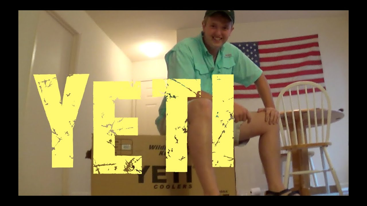 Yeti Cooler Review & Unboxing! by: Cody! - YouTube