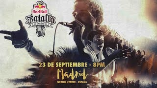 Final Nacional España 2017 - Red Bull Batalla de los Gallos