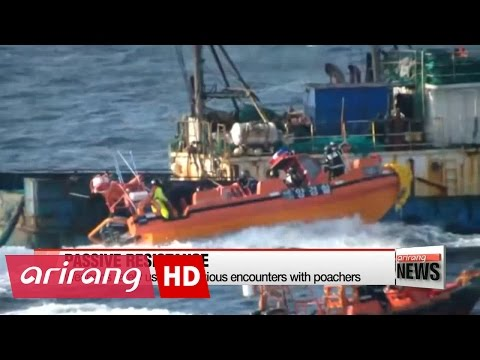Korea gets tough on Chinese illegal fishing boats
