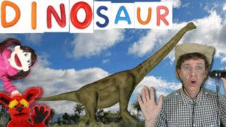 First Words #4  DINOSAUR | Learn 7 Dinosaur Names | Songs For Kids Matt VS Dino