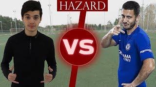 بشار عربي يتحدى اللاعب هازارد في المهارات!!! | Challenge VS Hazard