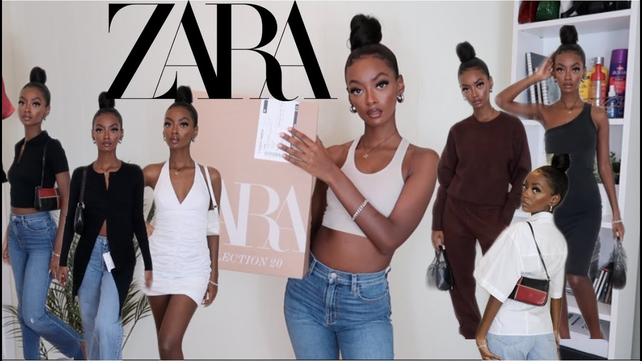 HUGE ZARA FALL HAUL & TRY-ON | NEW IN 2020