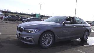 2017 BMW 520d xDrive G30 Тест Драйв