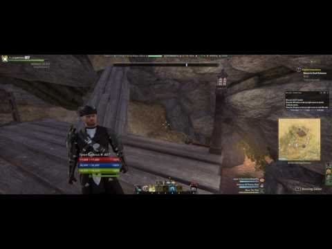 Elder Scrolls Online - Strident Springs Demense house with cave