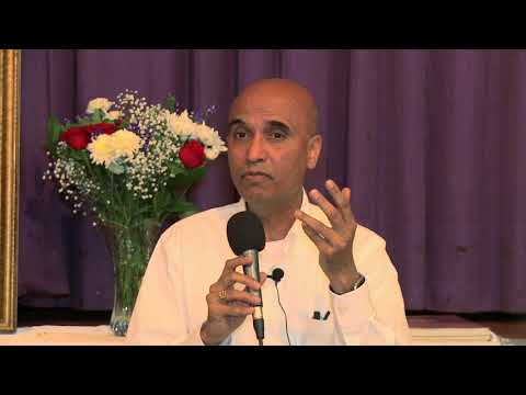 Dr.  Venkat Sadanand Speaks at the Hollywood Sai Baba Center