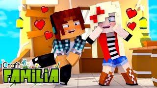 Minecraft Familia #01 - ENCONTREI A NAMORADA PERFEITA !!