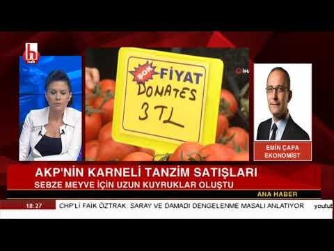 AKP'nin karneli tanzim satışları! // Emin Çapa