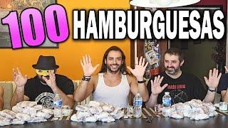 100 HAMBURGUESAS | 5 HOMBRES thumbnail