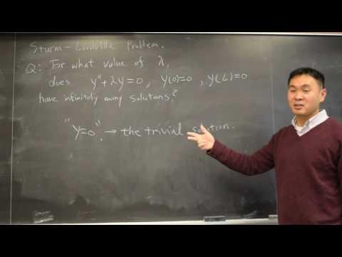 What is a Sturm-Liouville problem? (Intro)