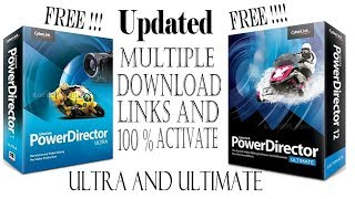 Cyberlink Powerdirector 16 Ultimate And Ultra Crack Free Download And Activate--By Teach Me