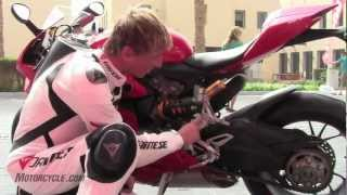 2012 Ducati 1199 Panigale Review - A game-changing sportbike from Italy