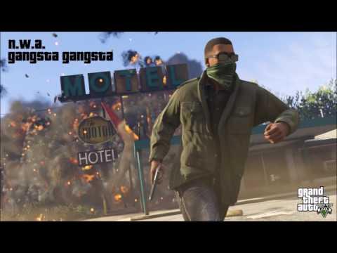 GTA 5 Soundtrack | N.W.A. - Gangsta Gangsta
