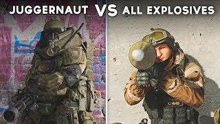 Gambar cover Juggernaut vs All Explosives (Launchers/Grenades/Throwables)  - Call of Duty: Modern Warfare