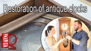 Antique clocks Restoration, renovace starožitných hodin PF 2019
