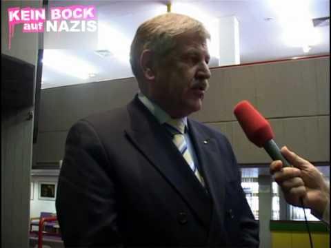 NPD-Chef Udo Voigt bekundet Solidarität mit Horst Mahler