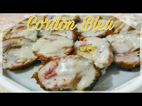 Chicken Cordon Bleu | Food Bae
