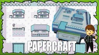 Papercraft Pallet Town / Pueblo Paleta