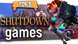"""😢 5 Good Games Gone """"Shut Down Games 2018"""" FAILED GAMES"""